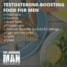 Testosterone-Boosting Foods for Men, Over 40, burn fat, lose weight, how to, easy, bone broth, recipe, fat-burning, fat-burning man, abel james, collagen, anti-aging, age reversing food, nourish, heal your gut, healing, routine, cooking, crockpot, minerals, somatopause, menopause, over the hill, extra fat, body fat, growth hormone, estrogen, testosterone, boost, foods #animals #vitaminB #vitaminA