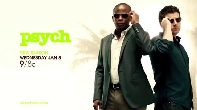 Psych Season 8 January 8th 2014