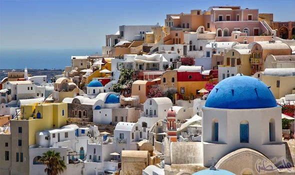 سانتوريني تعد من أغلى الجزر اليونانية وأجملها Ibiza Island Green Travel Island Travel