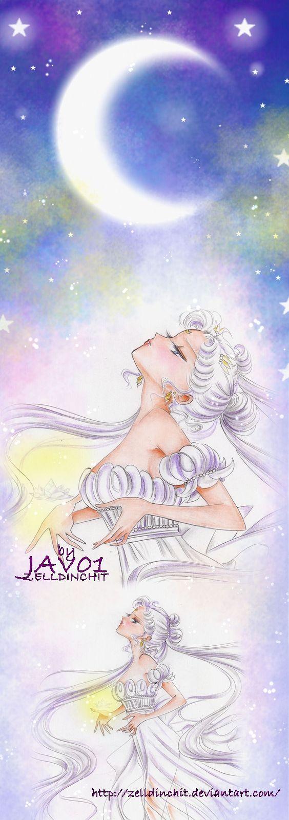 serenity - (sailor moon ) the sacrifice by zelldinchit on deviantART