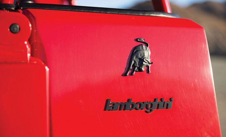 Lamborghini's Rambo-Lambo Set For Auction | Cool Material