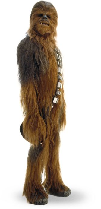Chewie'll be back, right?  An aging Peter Mayhew'd be more appropriate as an aging Chewbacca in EPISODE VII than he was as a younger Chewbacca in REVENGE OF THE SITH.  And his EU death?  Retconned, of course!  UPDATE: He's alive!