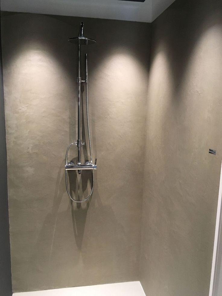 Carameo Fugenlos Wasserfester Putz Fur Die Dusche Putz Wand