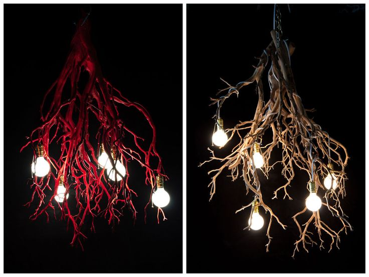 Whimsical Tree Branch Chandeliers #Chandelier, #Lamp, #Light, #Tree