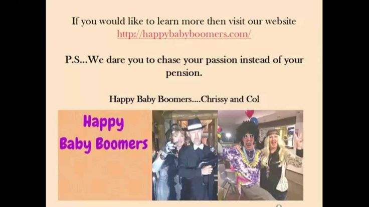 Happy Baby Boomers