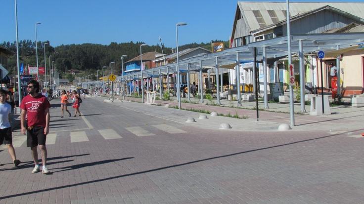 Dichato, Comuna de Tomé. VIII Región. Chile.