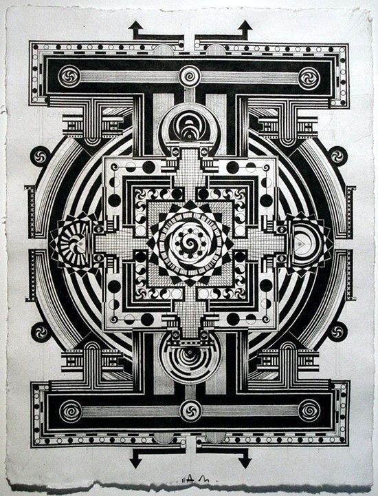 Mandala Market Gardens The Layout: Labyrinth/Mandala -tattoo Me! Ai