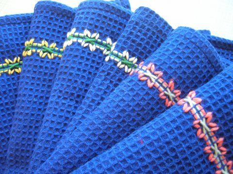 waffle embroidery