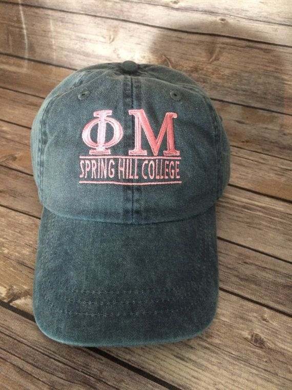 Embroidered Adams Hat Monogrammed Hat Sorority by SterlingImageInc