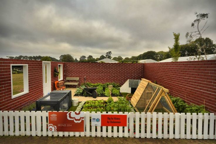 """Our wartime garden based on the """"dig for victory"""" campaign run throughout WW2 - Ellerslie Flower Show 2014"""