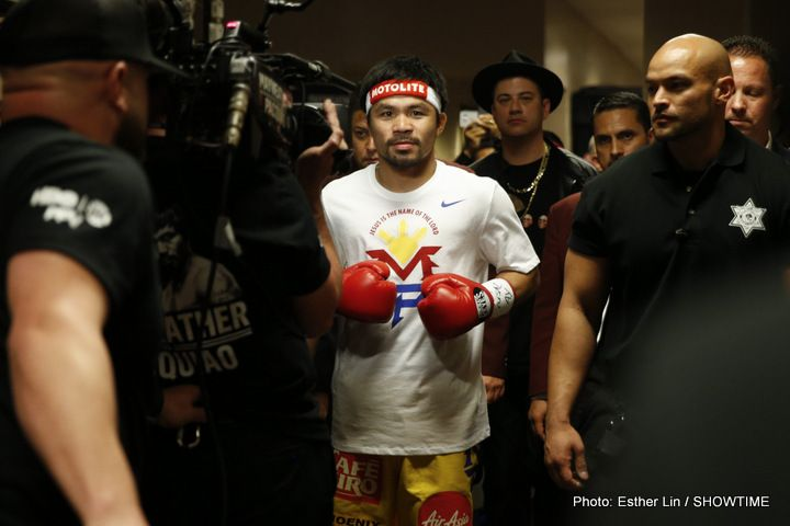 Manny Pacquiao to fight on April 14 at MSG New York #MannyPacquiao #BobArum #allthebelts #boxing