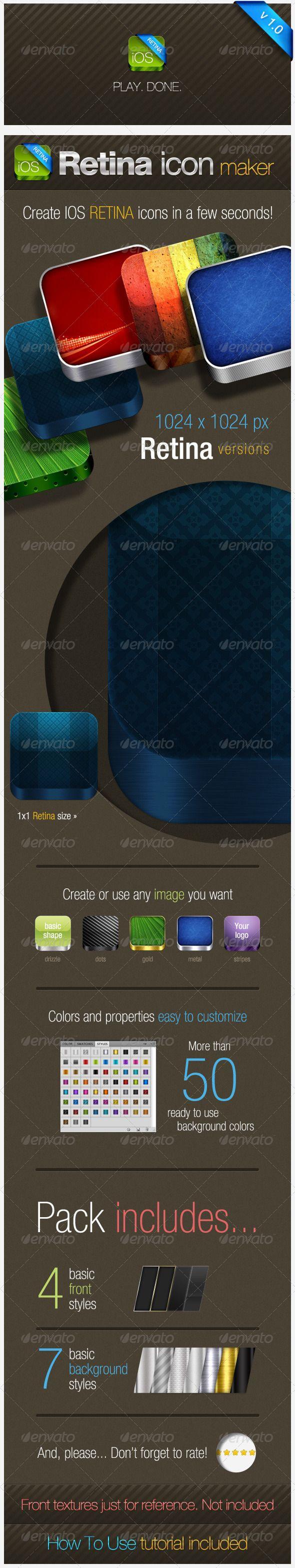 IOS Retina Icon Maker - Software Icons