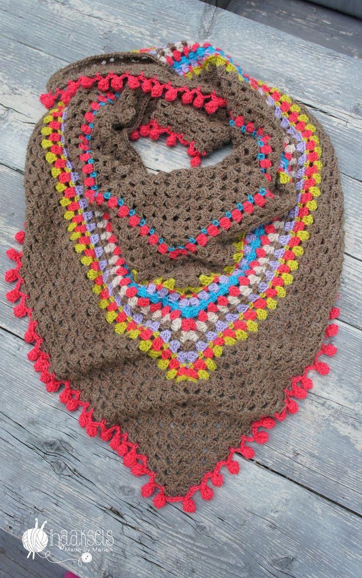 ★ I N S P I R A T I O N Haaksels: crochet shawl