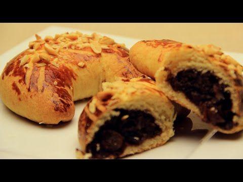 Ay Çöreği Tarifi - Cevizli Üzümlü Tatlı Ev Çörekleri - YouTube