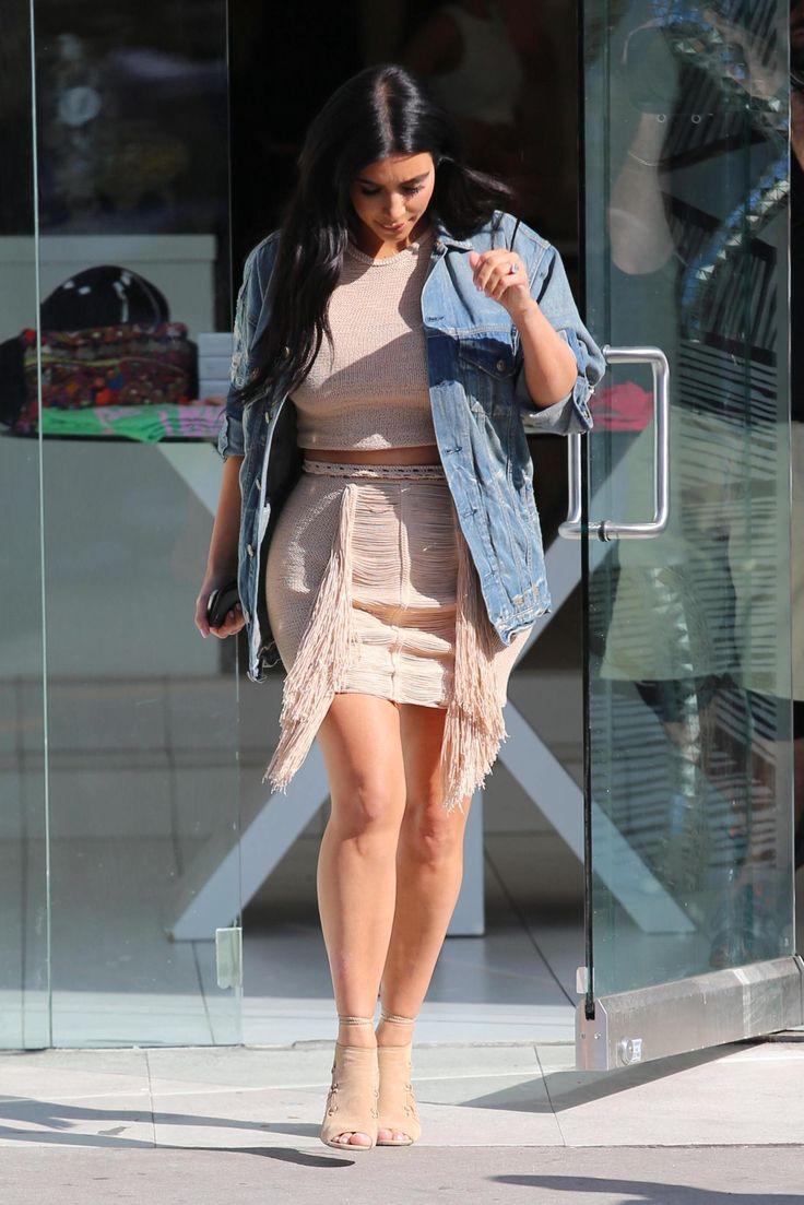 Tracking Kim Kardashian's Pregnancy Style | StyleCaster