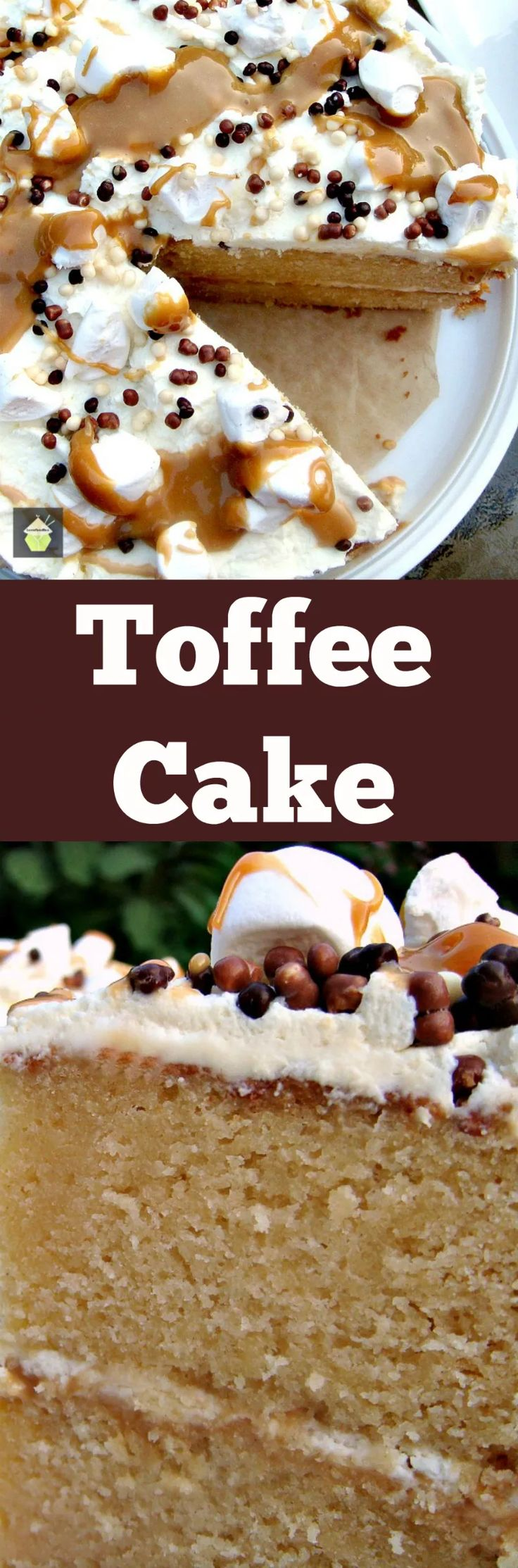 Cheeky Toffee Caramel Cake - Always a show stopping jaw dropper! | Lovefoodies.com