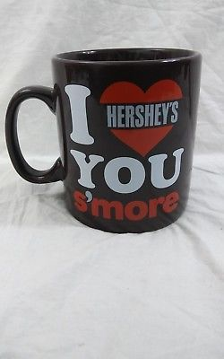 I Love You S'more Hershey's Chocolate Oversized Coffee Mug Cup 28oz Galerie