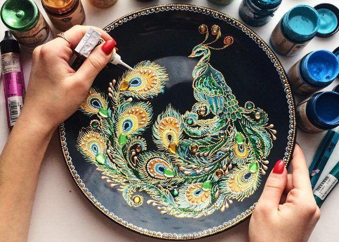 Завораживающие рисунки от мастерицы из Пензы