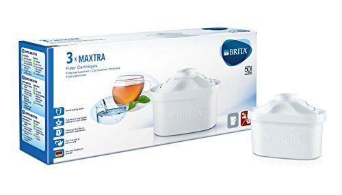 Brita 200825 Pack de 3 Cartouches MAXTRA: Cartouches compatibles avec les carafes :-Elemaris-Elemaris XL-Fjord-Marella-Aluna Cet article…