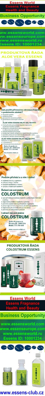 Produktová řada Aloe vera a Colostrum Essens - http://essensclub.cz/registrace/essens-free-online-registration/