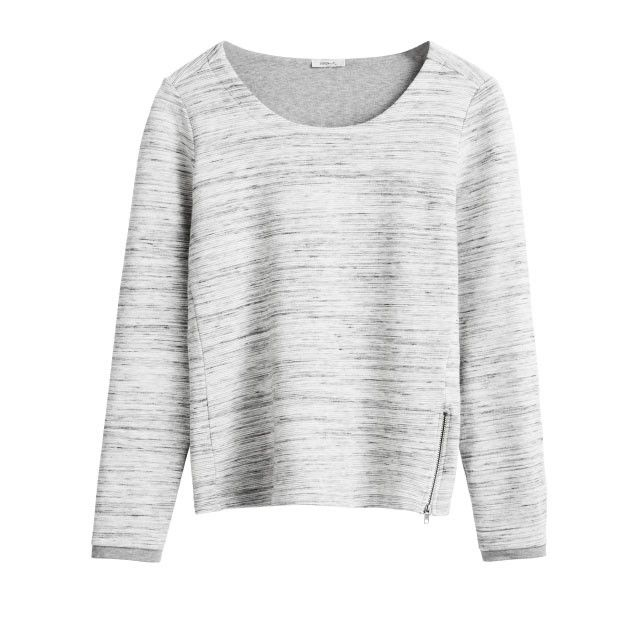 Sandwich Clothing Jersey Top Grey