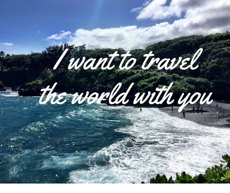 Who do you want to travel with world with?