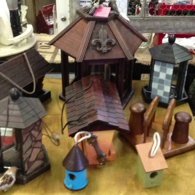 Birdhouses Hidden Treasures Flea Market 2901 Maplewood Drive Sulphur Louisiana Come See