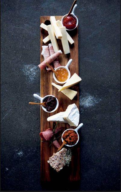 Cranmore Home has GREAT reclaimed timber share boards by Rabbit Trap Timber www.cranmorehome.com.au Tapas trays are the perfect way to display food, at the Larder at Abigail Ahern
