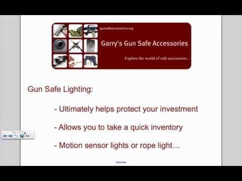 Gun Safe Accessories Guide - A Complete Overview - http://reviewslikecrazy.com/gun-safes/gun-safe-accessories-guide-a-complete-overview/