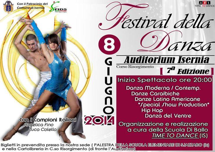 Festival della Danza - Auditorium Isernia - 7a Edizione - 8 Giugno 2014 ore 20.00