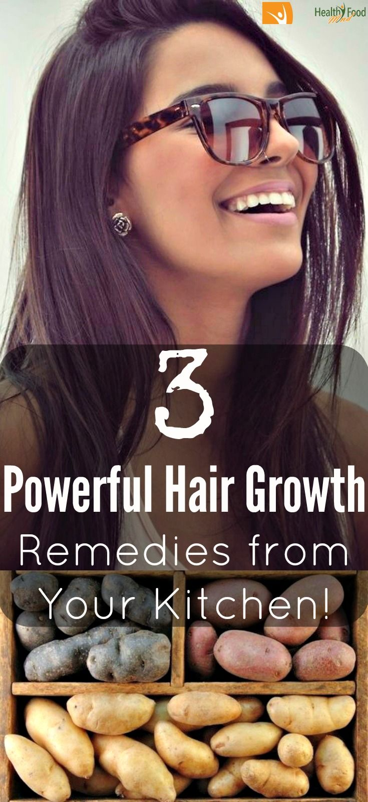 Did you know that you can encourage hair growth with just 3 simple hair growth remedies form your kitchen? You can definitely stimulate more vivid and thicker hair growth, with normal effort, just using the right ingredients!