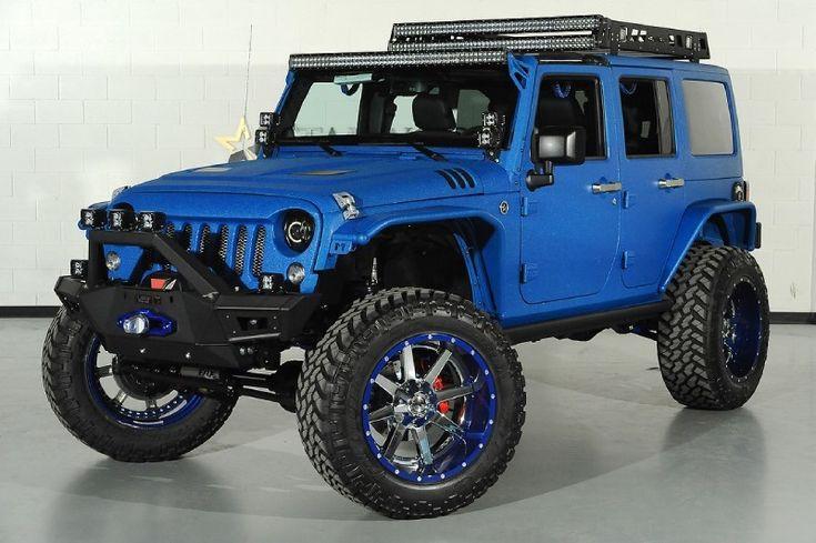 Starwood Custom #Kevlar #Jeep #Wrangler Unlimited SEMA Build