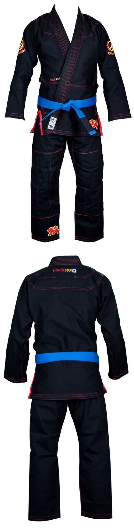 Shoyoroll Brand Limited Edition Black Star BJJ Kimono