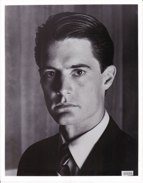 Twin Peaks Kyle MacLachlan Agent Cooper Head Shot 8 X 10 Photo via Etsy