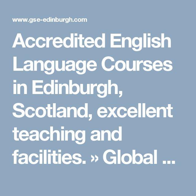 Accredited English Language Courses in Edinburgh, Scotland, excellent teaching and facilities. » Global School of English Edinburgh