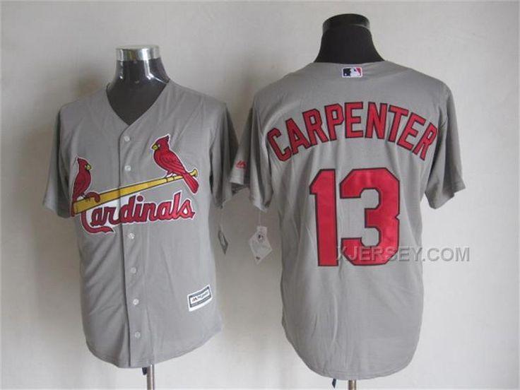 http://www.xjersey.com/cardinals-13-matt-carpenter-grey-new-cool-base-jersey.html CARDINALS 13 MATT CARPENTER GREY NEW COOL BASE JERSEY Only $35.00 , Free Shipping!