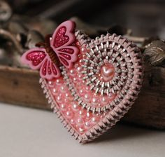 Special Order For Connie Springtime Pink by ZipperedHeart on Etsy