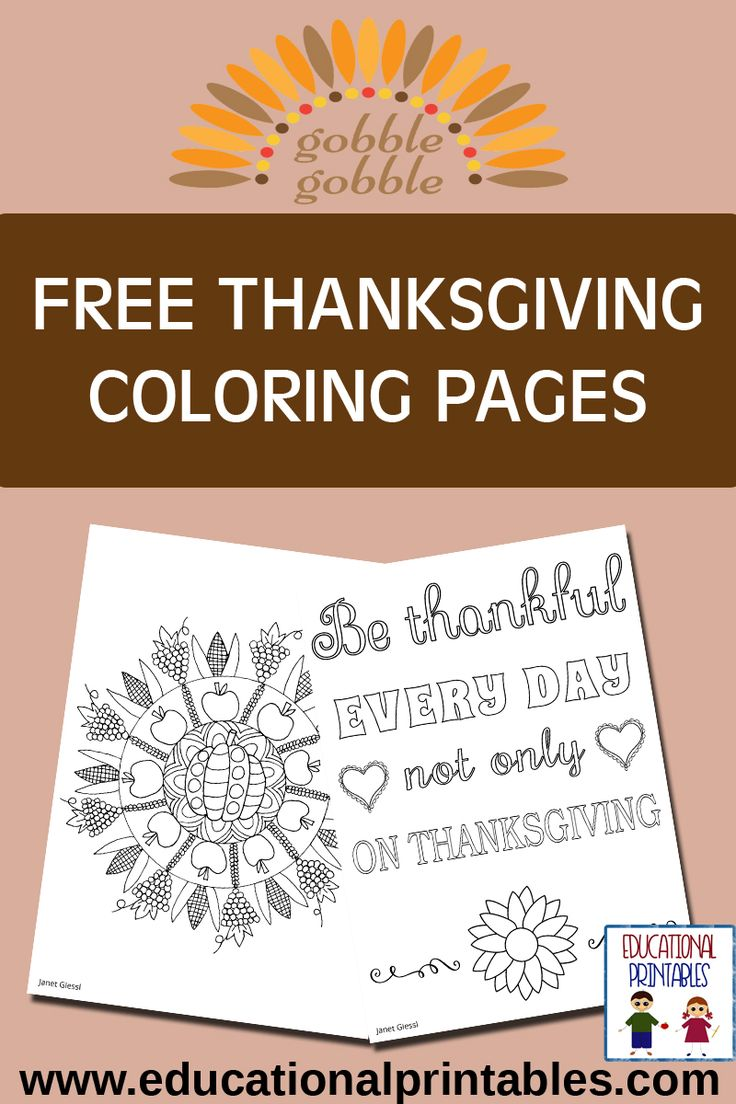 100 Thanksgiving Coloring Pages And Word