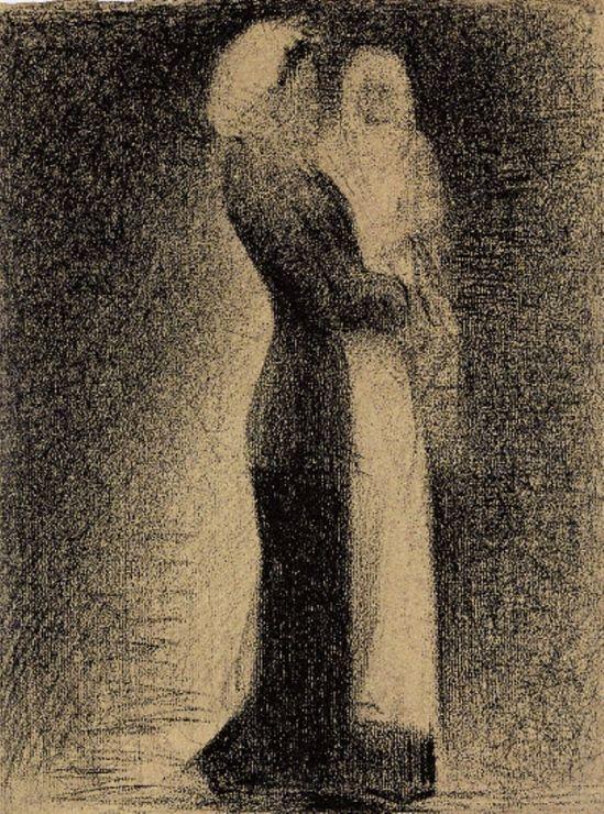 Georges Seurat. The nurse. 1882-1883