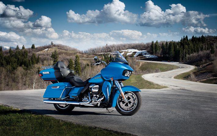 Hämta bilder Harley-Davidson Modeller, 2017 cyklar, tourer, inställda tåg, amerikanska motorcyklar, Harley-Davidson