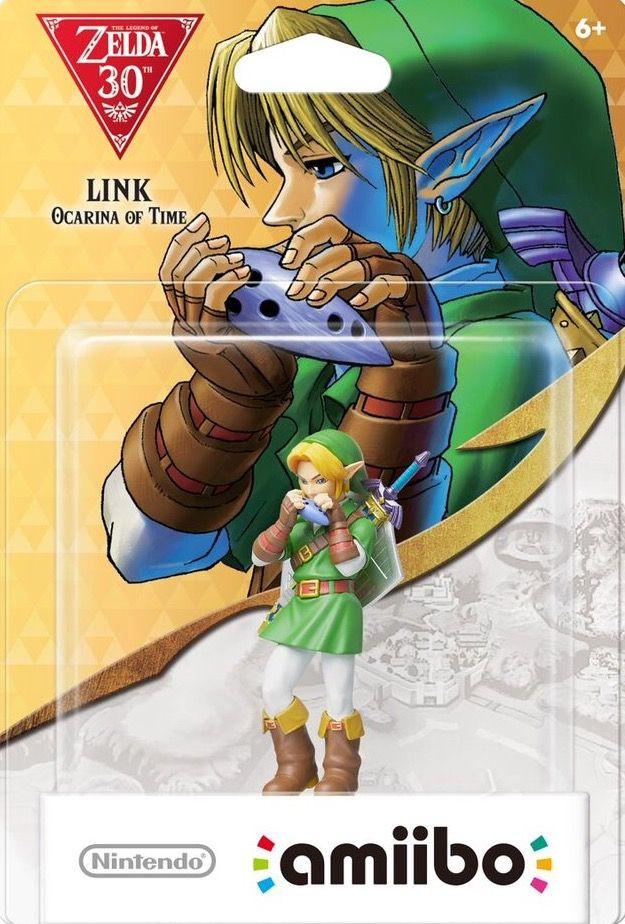 Ocarina of Time Link - Legend of Zelda 30th Anniversary Series