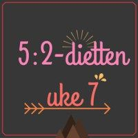 Forslag til 5:2-diett dagsmeny for 2 av ukens dager, uke 7 – 2016