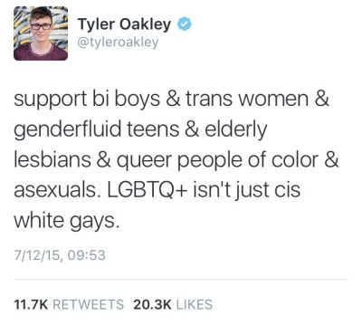 i agree , other than the asexual part because asexual people are not lgbt jkfglkjdfk when will people learn
