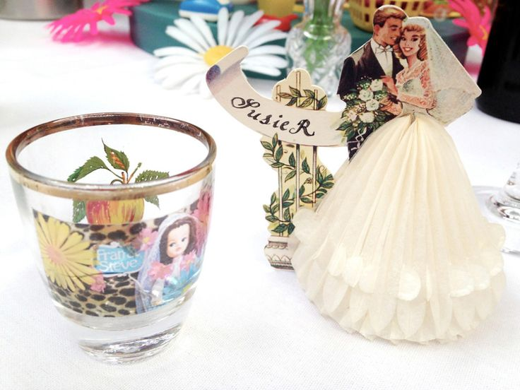 A Fabulous Vintage Bride and her Kitsch and Colourful 1960's Inspired Brighton Wedding | Love My Dress® UK Wedding Blog