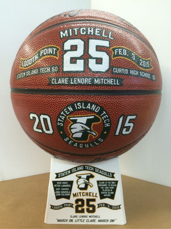 Custom Hand Painted Basketball by Socha Sports Gifts a ...