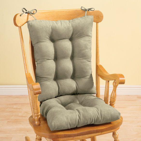 Pattern for Rocking Chair Cushion | Twillo Rocking Chair Cushion Set - View 2