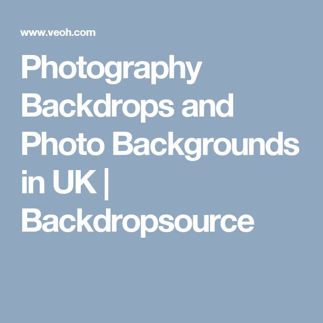 Photography Backdrops and Photo Backgrounds in UK | Backdropsource