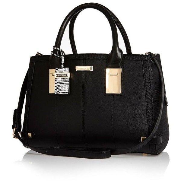 Original Black Leather Croc Bowler Bag - Shoulder Bags - Bags / Purses - Women