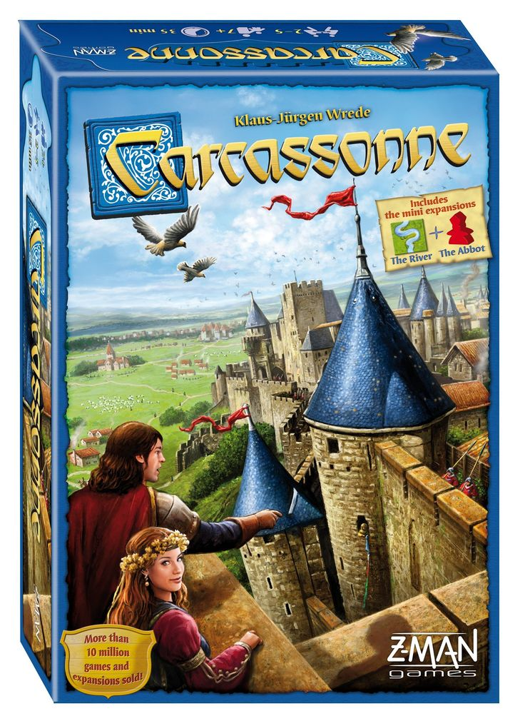 Carcassonne: New Edition Board Game: Amazon.co.uk: Toys & Games