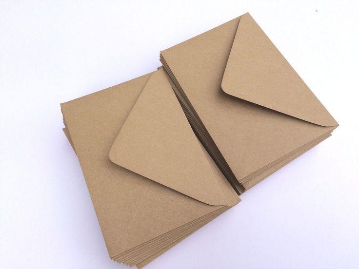 ,50+11,08 50 x A6/C6 Kraft Fleck Recycle Envelopes 120GSM Card making / Wedding invites